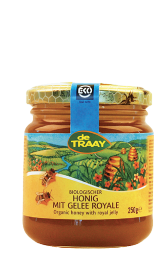 Organic honey with royal jelly